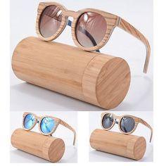 Handmade Bamboo Sunglasses Polarized Wooden Frame Glasses Man Women Eyewear New in Clothing, Shoes & Accessories, Women's Accessories, Sunglasses & Fashion Eyewear | eBay