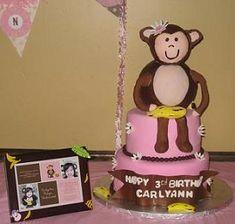 Monkey birthday party ideas...
