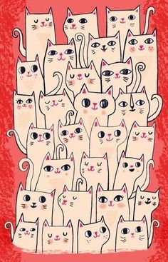 allison pp CatsCatsCats - Allison Cole - Workbook.com #CatDibujo