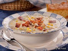 Old-Fashioned Corn Chowder | mrfood.com