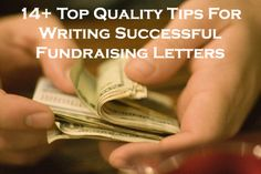 14 (plus) top quality tips for writing successful donation/grant/fundraising letters! Read this article by clicking on the image or following this link...  www.rewarding-fundraising-ideas.com/fundraiser-letter.html  (Photo by J R / Flickr)