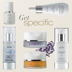 Erase lines, brighten skin tone, firm & refresh… Get specific with skin care