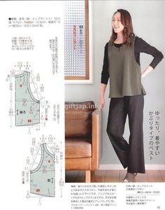 Amazing Sewing Patterns Clone Your Clothes Ideas. Enchanting Sewing Patterns Clone Your Clothes Ideas. Dress Making Patterns, Easy Sewing Patterns, Clothing Patterns, Apron Patterns, Sewing Blouses, Sewing Aprons, Japanese Sewing, Japanese Books, Make Your Own Clothes
