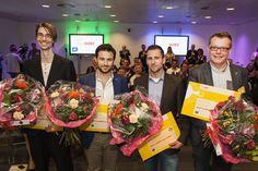 NETICS, The Innovation Engineers behaalde dit jaar niet alleen een plaats in de MKB Innovatie Top 100 maar heeft nu ook een finaleplaats in de Shell LiveWIRE Adward in de wacht gesleept. Hugo Ekkelenkamp en Eldert Besseling van harte gefeliciteerd! #innotop #kvk