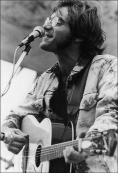 John Sebastian at Woodstock, born 1944 - is an American singer, songwriter, guitarist and autoharpist. He is best known as a founder of The Lovin' Spoonful, a band inducted into the Rock and Roll Hall of Fame in 2000.