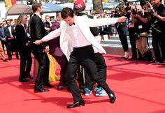 Pin for Later: Die besten Schnappschüsse vom Filmfest in Cannes Shia LaBeouf