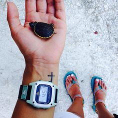 freestylewatches Turtle Time with @cobiaphotography @alyssahearing #sharkclip #myfreestylewatch