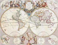 Acá podrás visualizar como era la división política en Am´rica en el siglo XVII. Como fue cambiando la idea del mundo conocido... Hay mapas de Asia, Europa, aun no agregué ninguno de África, pero ya lo voy a hacer. Y también te podes llevar...