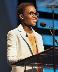 Eye Spy: See Our Favorite Stars in Super-Chic Specs - Lupita Nyong'o  - from InStyle.com