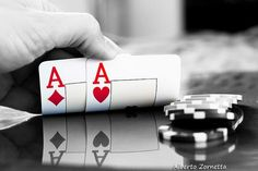 Don't slow play AA from early position, It will cost you money in the long run  #poker #tips #texasholdem