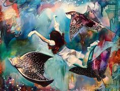 This incredibly talented 16-year-old girl Young artist Dimitra Milan paints the most stunning pictures you'll ever see