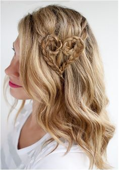 Decorative Heart Braid. See tutorial at hairromance.com | top inspired