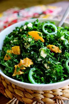 Kale Citrus Salad. Sooooooo unbelievably delicious.