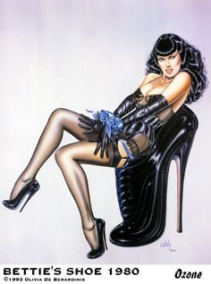 Olivia de Berardinis has created a stunning portfolio of technically brilliant, highly imaginative and erotic pin-up art over a period spanning more than 30 years. Description from pinterest.com. I searched for this on bing.com/images