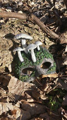 Hey, I found this really awesome Etsy listing at https://www.etsy.com/listing/222992296/mossy-mushroom-fantasy-masquerade-mask
