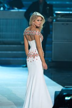#ITGirl DREAM GOWN on Miss OK USA at Miss USA 2010