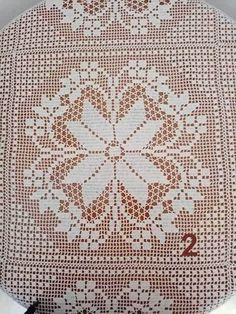 Crochet Bedspread, Crochet Tablecloth, Crochet Blanket Patterns, Filet Crochet, Crochet Motif, Crochet Books, Tatting, Projects To Try, Cross Stitch