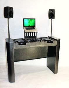 Gun Metal Dj Booth » Design You Trust. Design, Culture & Society.