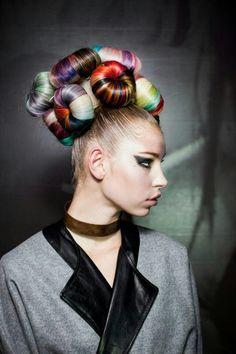 Who said colours? #HairStyle #Trends