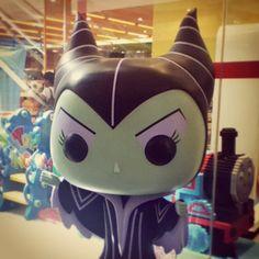 @heyleeeys photo: A super #cute life-size #popArt of Her Evilness, #Maleficent  #SleepingBeauty #fairytale #Disney