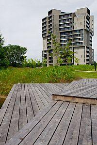 Campus Hall, University of Southern Denmark, Landscape. C.F. Møller. Photo: Frans Hansen