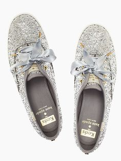 keds for kate spade new york glitter sneakers - kate spade new york