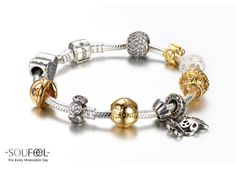 Soufeel Forever Friend 925 Sterling Silver Charms Bracelet, must need these for your Pandora Charms Bracelet www.soufeel.com