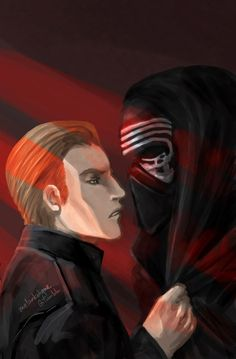 """""""Sometimes I don't know if I want to punch you in the face or kiss you more.""""  The eternal struggle. And I bet Kylo secretly steals glances at Hux under his helmet, thinking Hux doesn't know but Hux always knows because he literally can feel Kylo's gaze on him."""