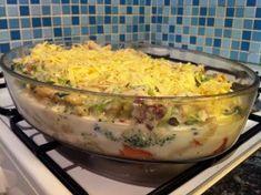 zapecena brokolice Guacamole, Mashed Potatoes, Macaroni And Cheese, Vegetarian Recipes, Good Food, Food And Drink, Breakfast, Ethnic Recipes, Whipped Potatoes