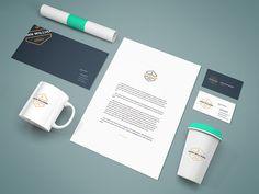 Freebie - Branding Stationery Mockup