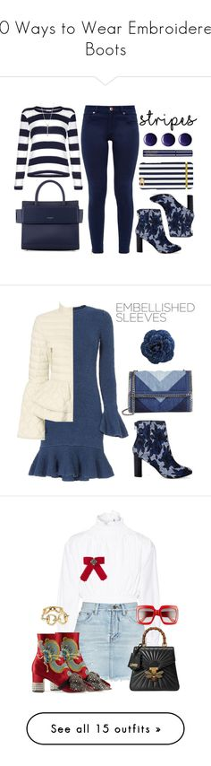 """""""10 Ways to Wear Embroidered Boots"""" by polyvore-editorial ❤ liked on Polyvore featuring waystowear, embroideredboots, Splendid, Ted Baker, Sole Society, EF Collection, Givenchy, Topshop, Exclusive for Intermix and Elizabeth Roberts"""