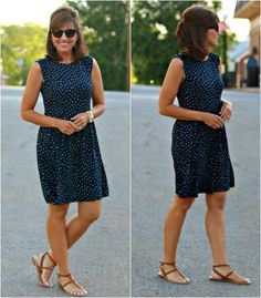 I love wearing casual summer dresses. This one from LOFT is a new favorite!