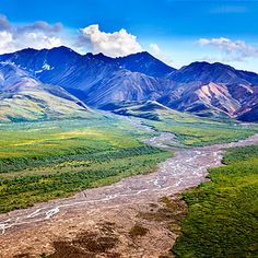 Just outside Denali National Park, a helicopter flightseeing trip will swoop you through the Alaskan landscape to touch down on a glacier for a giddy speck-in-the-vastness moment of clarity.