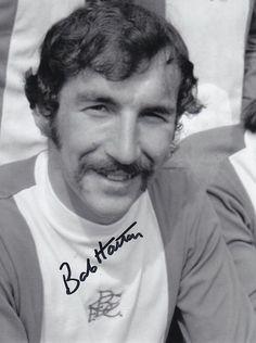 Bob Hatton BCFC Football Icon, World Football, Birmingham City Fc, Legends, The Past, Blues, Bob, Soccer, England