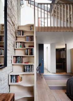 Statement Staircase Ideas Beautiful Design Of Staircase and Stairs is part of Living Room Scandinavian Loft - Take stairs and stairways to new levels by creating an architectural centrepiece Create immediate impact with these statement staircase ideas