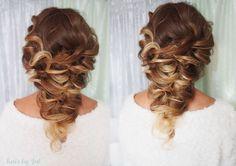 Znalezione obrazy dla zapytania fryzury ślubne długie włosy