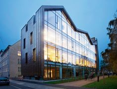 Built by Danielsen Architecture in Copenhagen, Denmark with date 2008. Images by Jersø. Architecture and vision: The overall idea was to create a small, but exceptional building that will contribute and re...