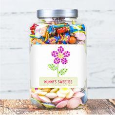 Personalised sweetie jar 1.8l