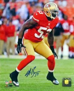NaVorro Bowman SF 49ers Autographed 8x10 Photo (unframed) by Sports Gallery Authenticated. $19.95. NaVorro was selected by the San Francisco 49ers 91st overall in the 2010 NFL Draft out of Penn State. Today, he is considered by many to be one of the best middle linebackers in the NFL. In his second NFL season, Bowman became the starter at inside linebacker after the departure of Takeo Spikes to free agency. Starting alongside All-Pro linebacker Patrick Willis,...
