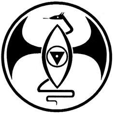 Dragon Rouge symbol. https://en.wikipedia.org/wiki/Dragon_Rouge