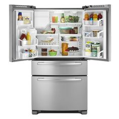Whirlpool 25 cu ft French Door Refrigerator (Color: Stainless Steel) ENERGY STAR