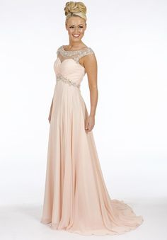 b9c19a99fa4 A sophisticated and very feminine ball gown from Prom Frocks of the UK  Peach Prom Dresses