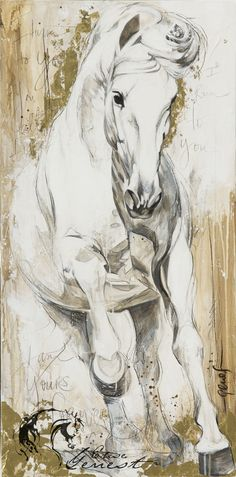 Toiles passées - past paintings — Elise Genest Horse Drawings, Art Drawings, Oil Painting Abstract, Watercolor Art, Horse Artwork, Equine Art, Horse Pictures, Animal Paintings, Horse Paintings