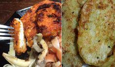 Aprenda a fazer o 'Robson', um bife vegano à base de miolo de pão. A aparência é bem parecida com filé de frango.