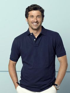 patrick dempsey. I could make out with that face for hours lol