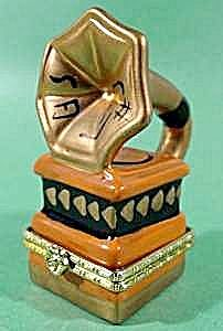 Victrola Trinket Box