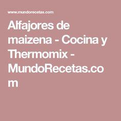 Alfajores de maizena - Cocina y Thermomix - MundoRecetas.com