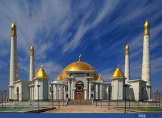 https://flic.kr/p/2jQzsK | Kiptchak Mosque | Ashgabat, Turkmenistan 2006