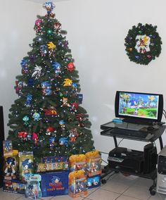 the bittersweet triumph of the sonic the hedgehog christmas tree - Sonic Open Christmas Day