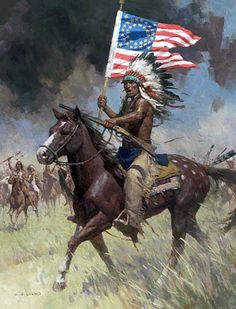 American Indian Wars | Atsina Indians On The War Path. | indian ...
